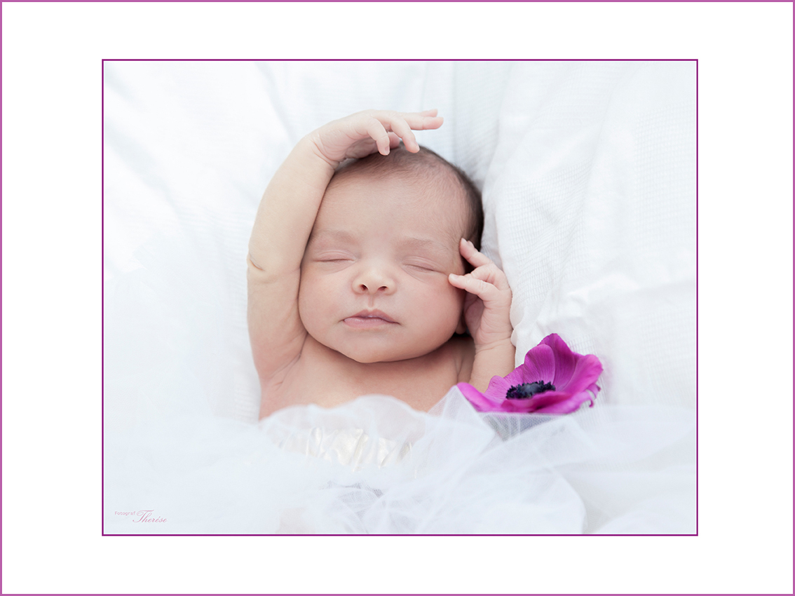 Newborn baby- photo session at home